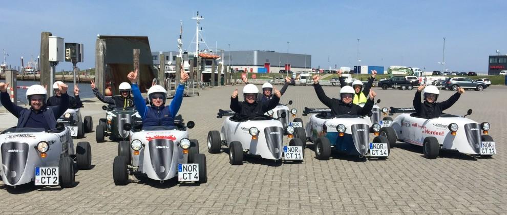 Hotrod Citytour startet von Norden aus ab März durch Ostfriesland. Gruppen von...