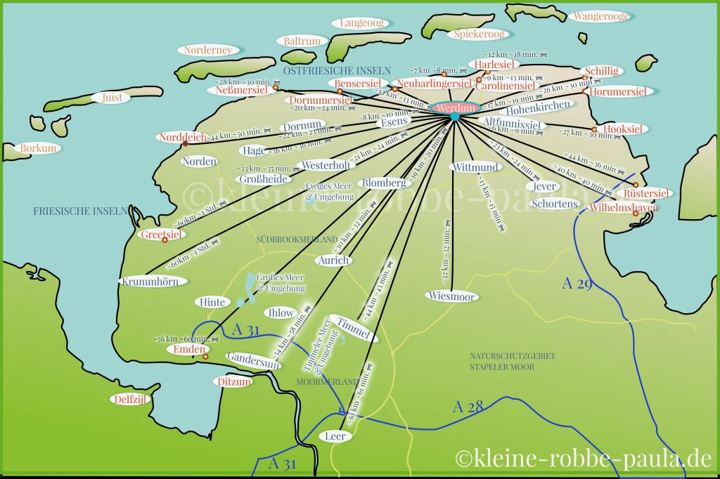 xxl-karte-ostfrieslands-schoene-orte-entfernungen-km-werdum