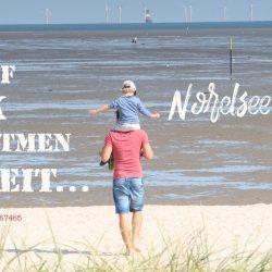 """Lust auf Glück, durchatmen, Freiheit, Nordseefeelings, """"og:image"""" Strandspaziergang, Familienurlaub"""